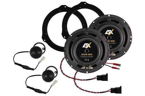 ESX Kit haut parleurs 16.5cm esx dcs165