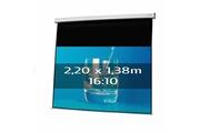 KIMEX Ecran de projection électrique 2,20 x 1,38m, format 16:10