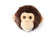Bibib & Co Trophée peluche tete de singe wild and soft