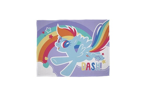 My Little Pony My little pony plaid polaire - 100% polyester - 100x150 cm - multicolore