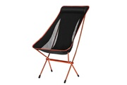 Ancheer Chaise de camping pliante orange ultra légère