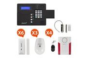 ATLANTIC'S St-v - alarme maison sans fil gsm application smartphone kit max 1 (md-334r)
