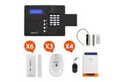 ATLANTIC'S St-v - alarme maison sans fil gsm application smartphone kit max 3 (md-326r)