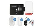 Pack Alarme Ip09 Gsm Avec Sirène Flash Autonome Iprotect evolution