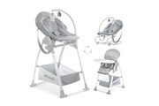 Hauck Chaise haute sit'n relax 3in1 - stretch grey