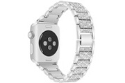 Xcsource Bracelet montre acier inoxydable rinestone 44mm pour apple watch 4 th1161