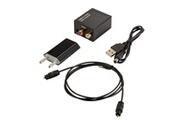 Xcsource Câble optique toslink rca l / r convertisseur audio numérique ac1693