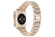 Xcsource Bracelet montre acier inoxydable rinestone 40mm pour apple watch 4 th1160