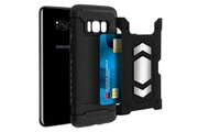 FORCELL Coque samsung galaxy s8 plus protection hybride magnétique antichoc forcell noir