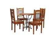 GENERIQUE Ensembles de meubles edition managua jeu de salle à manger 5 pcs acacia massif et finition sheesham