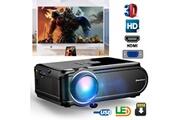 Excelvan Excelvan videoprojecteur portable mini led multimedia 800*480 1080p support eu noir