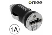 O-mee Chargeur voiture allume-cigare port usb 1a o-mee pour iphone 4
