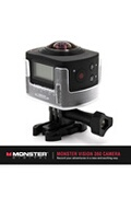 Monster Vision Caméra monster vision 360 camescopes caméra de sport 1080 pixels