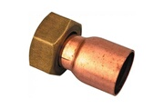 Raccords Douille droite à joint plat - filetage 15 x 21 mm - diamètre 12 mm - raccords