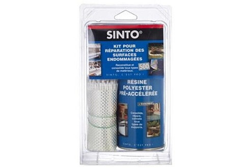 Sinto Kit de réparation - kit500 resine + fibre - sinto
