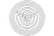 GENERIQUE Grille d'aération contre-cloison - diamètre 45 mm - blanc - nicoll