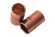 Raccords Manchon réduit en cuivre mâle / femelle - 12 x 14 mm - lot de 2 - raccords