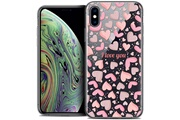 Caseink Coque crystal gel apple iphone xs max (6.5 ) extra fine love - i love you