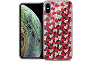 Caseink Coque crystal gel apple iphone xs max (6.5 ) extra fine love - with love