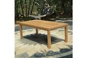 Teck'attitude Table en teck effet recyclé 250 cm fontainebleau