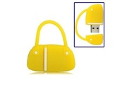 Prixwhaou Clé usb -sac à main de style de disque flash usb, 4 go(jaune)