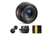 Craphy Sony objectif e-mount 35mm f/1.7 ouverture fixe aps-c à large ouverture hd pour appareils photo numériques sony e-mount