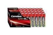 Camelion Pack de 40 piles camelion alcaline lr3 mignon aaa