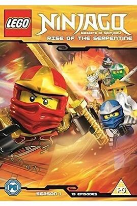 Whv Lego ninjago season 1 dvd