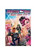 Xbite Ltd Monster high: frights, camera, action dvd