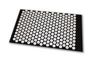 No-name Tapis d'acupression shanti (65 x 41 cm, noir)
