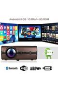 Excelvan Bl - 46 android 6.0 multimédia lcd projecteur 1g+8g rom bluetooth 4.0 connexion sans fil 1080p usb vga sd hdmi