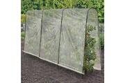 Idmarket Serre à tomates 4 arceaux 400x50x180 cm