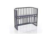 Babybay Berceau cododo comfort - laqué gris ardoise