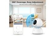 Xiaomi Caméra surveillance domestique caméscope sécurité wifi 1080p zoom magique blanc