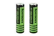 Xcsource 2pcs 3.7v 2800mah 18650 batterie rechargeable pour lampe torche bc817