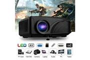 Excelvan Vidéoprojecteur led-4018 mini multimédia projecteur 1200 lumens 800*480 720p 1080p - noir