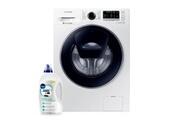 Samsung Lave-linge frontal 8kg a+++ 1400trs/min tambour 63l moteur inverter machine à laver hublot ww 80 k 5410 uw