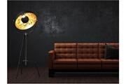 Insideart Lampadaire cinéma industriel movie - h. 166 cm - bicolore intérieur cuivré extérieur noir de la marque inside art