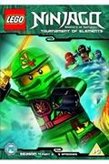 Whv Lego ninjago - masters of spinjitzu: tournament of elements - season 4 (part 2) dvd