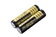 Xcsource 2pcs 18650 3.7v 4000mah brc piles au lithium rechargeables bc826