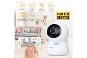 Floureon Floureon caméra de sécurité sans fil 1080p caméra ip auto-suivi caméra de surveillance comme bébé/vieillard/animal moniteur détection de mouvement vision nocturne