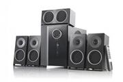 Auvisio Système audio 5.1 surround pcm avec entrée optique
