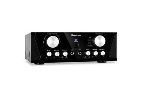 Skytronic Ampli HiFi Karaoke compact 2x RCA section micro 2 x 50W max.