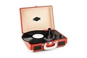 Auna Peggy sue red platine vinyle rétro lp , numérisation par usb - orange foncé