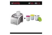 H.koenig Turbine à glace h.koenig hf180 + bols bo3.18