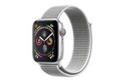 Apple Apple watch série 4 gps + cellulaire 40 mm argent avec dragonne nail loop mtvc2ty / a