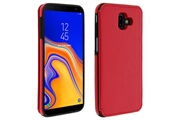 FORCELL Coque galaxy j6 plus protection antichocs porte-carte forcell wallet rouge