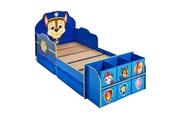 No-name Structure de lit pat patrouille lit enfant complet avec rangement - bleu