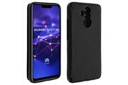 FORCELL Coque huawei mate 20 lite protection antichocs porte-carte forcell wallet noir