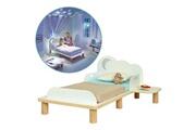 No-name Structure de lit home lit enfant avec veilleuse ciel etoilé et chevet - 70 x 140 cm